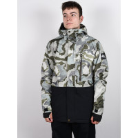 Quiksilver MISSION PRINTED BLOC GRAPE LEAF SIREDWARDS zimní bunda pánská - L
