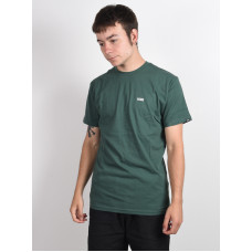 Vans LEFT CHEST LOGO PINE NEEDLE/WHITE pánské tričko s krátkým rukávem - L