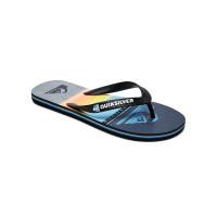 Quiksilver MOLOKAI HIGHLINES BLACK/GREY/BLUE plážovky - 34,5EUR