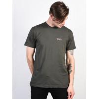 RVCA SCRAWL GREYSKULL pánské tričko s krátkým rukávem - L