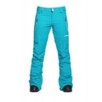 Horsefeathers AVRIL scuba blue zateplené kalhoty dámské - XL