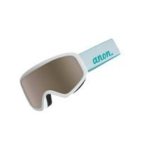 Anon INSIGHT WHITE/SILVER AMBER dámské brýle na snowboard - NA
