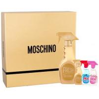 Moschino Fresh Couture Gold W parfémovaná voda 50ml + parfémovaná voda 5ml + toaletní voda 5ml + toaletní voda 5ml