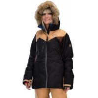 Picture FLY 15/15 BLACK/BROWN zimní bunda dámská - XS