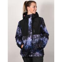 Roxy JETTY 3N1 MEDIEVAL BLUE SPARKLES zimní bunda dámská - M