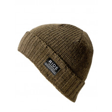 Ride Rag Wool olive dětská zimní čepice
