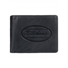 Billabong WALLED ID black luxusní pánská peněženka