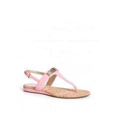 GUESS sandálky Jillaine T-strap růžové vel. 36
