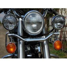 Yamaha XVS 650 Drag Star Classic rampa světel s blinkry - Motofanda 1236