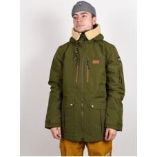 Picture Vermont 10/10 ARMY GREEN zimní bunda pánská - XL