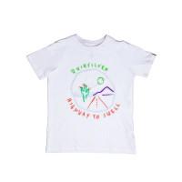 Quiksilver HIGHWAY TO SWELL white dětské tričko s krátkým rukávem - XL/16