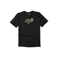 Fox Predator black dětské tričko s krátkým rukávem - L