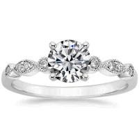 OLIVIE Stříbrný zásnubní prsten 4113 Velikost prstenů: 8 (EU: 57 - 58)