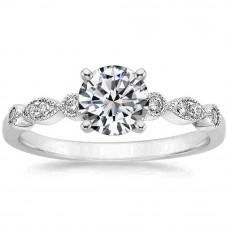 OLIVIE Stříbrný zásnubní prsten 4113 Velikost prstenů: 6 (EU: 51 - 53)