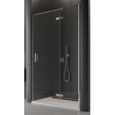 SanSwiss PU13PD 090 10 07 Sprchové dveře jednodílné 90 cm pravé, chrom/sklo
