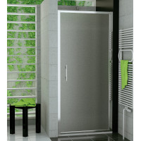 SanSwiss TOPP 0750 50 22 Jednokřídlé dveře 75 cm, aluchrom/durlux