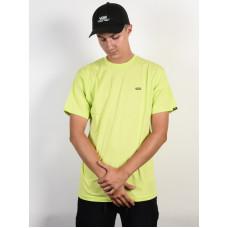 Vans LEFT CHEST LOGO SHARP GREEN/BLACK pánské tričko s krátkým rukávem - L