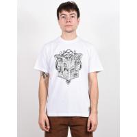 Element NEWS MAN OPTIC WHITE pánské tričko s krátkým rukávem - L