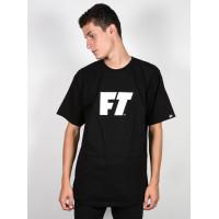 Full tilt Logo black pánské tričko s krátkým rukávem - S