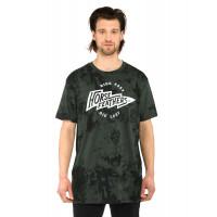 Horsefeathers FLASH gray tie dye pánské tričko s krátkým rukávem - L
