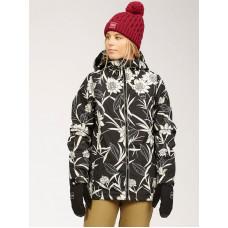 Billabong SULA BLACK FLORAL zimní bunda dámská - S