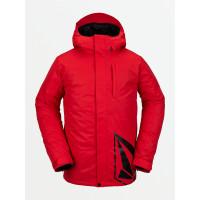 Volcom 17Forty Ins RED zimní bunda pánská - M