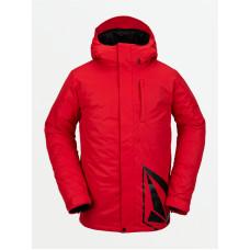 Volcom 17Forty Ins RED zimní bunda pánská - L