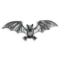 Samolepící emblém Highway Hawk BAT - netopýr, 125mm - Chrom - Highway Hawk HWH 01-318