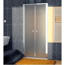 SanSwiss ECP2 0700 50 22 Dvoukřídlé dveře 70 cm, aluchrom/durlux